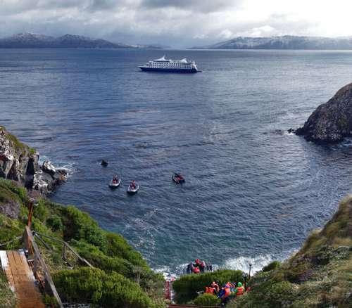 Ruta de Darwin desde Punta Arenas